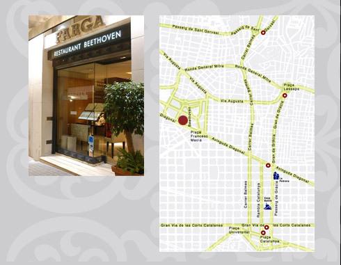 Restaurante Farga Beethoven (Barcelona)