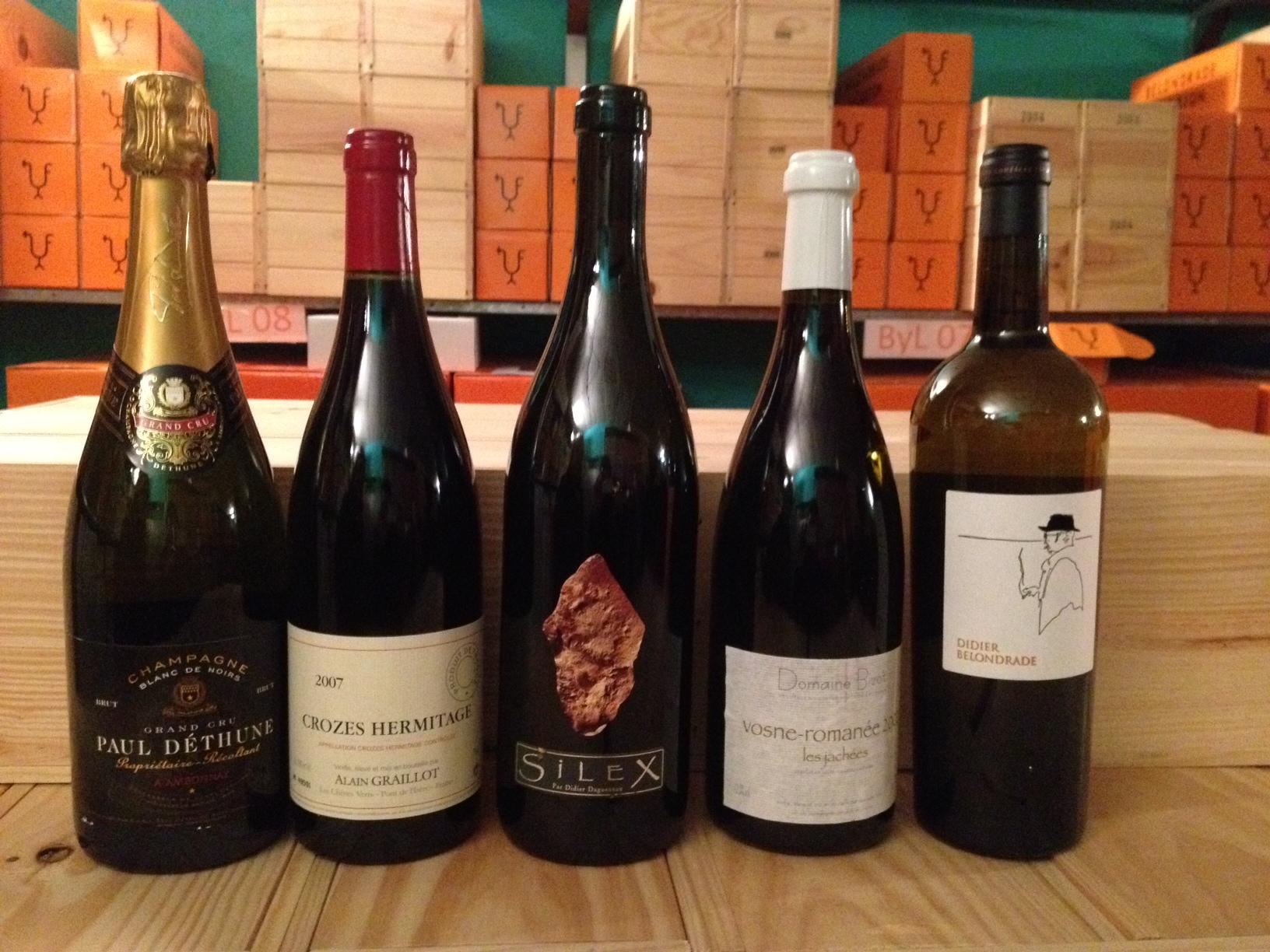 Martin Quiroga  (Valladolid) Los vinos de la comida