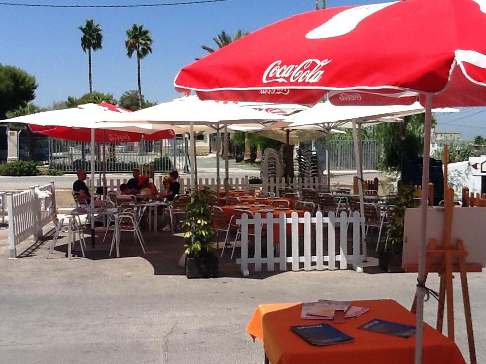 Restaurante en El Palmar Panorámica de la Terraza