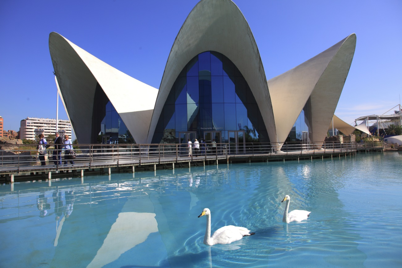 Restaurante Submarino Oceanogràfic (Valencia) Exterior Rte. Submarino de día