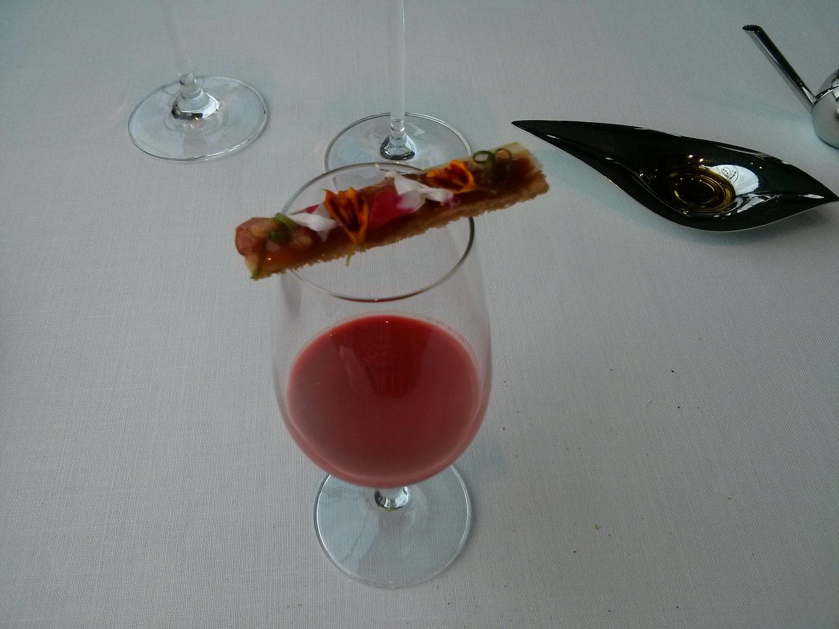 """Restaurante Azurmendi (Vizcaya/Bizkaia) Bloody """"Mar"""""""