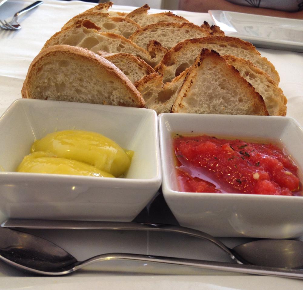 Mornell (Valencia) en El Palmar Pan, tomate y allioli