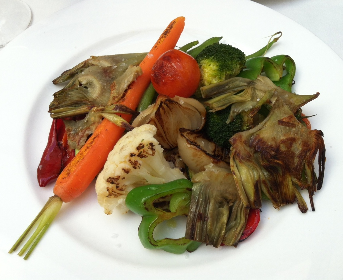 Restaurante Ca Pepico (Valencia) Verduras de la Huerta a la Plancha