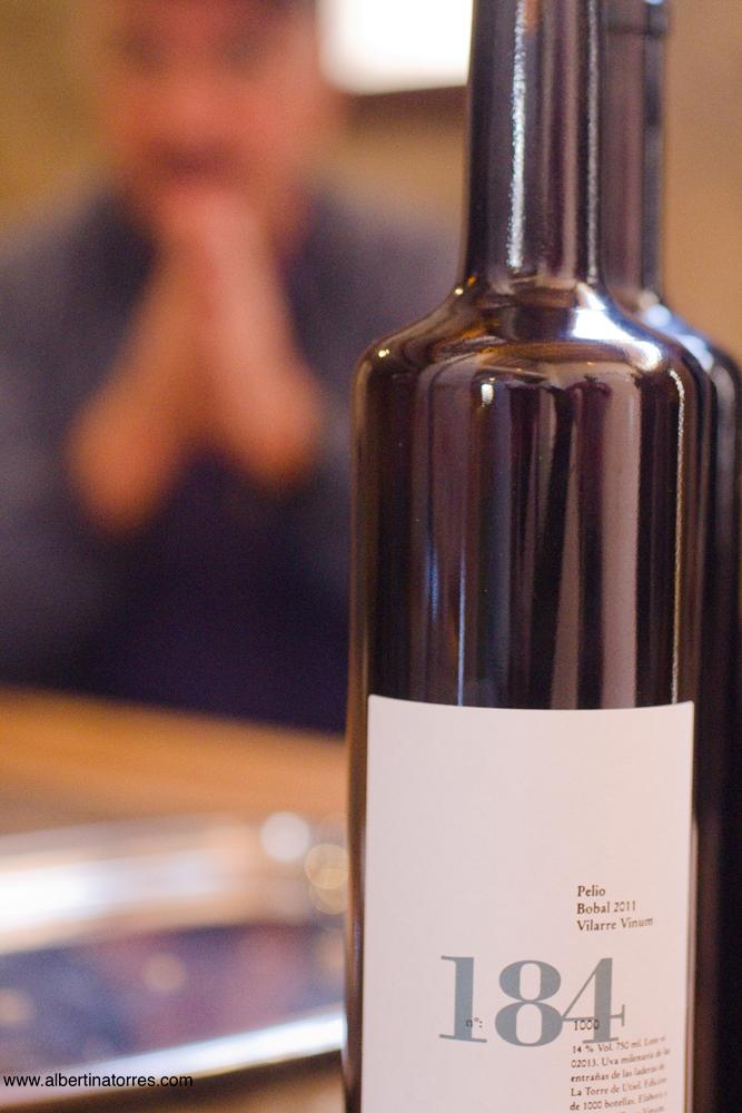 botella de Bobal numero 184