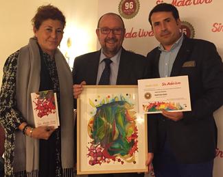 Recogida premio mejor cava hispano suizas logo