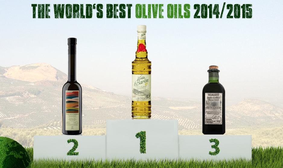 Ranking de los mejores aceites de oliva virgen extra (AOVES) del mundo