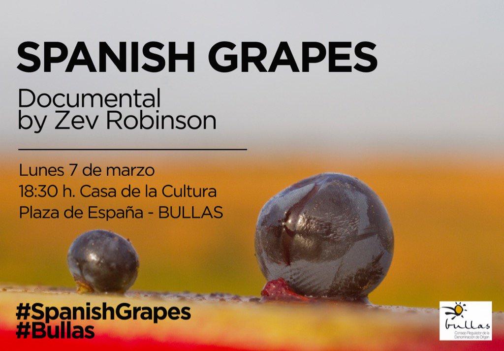Spanish Grapes en DO Bullas