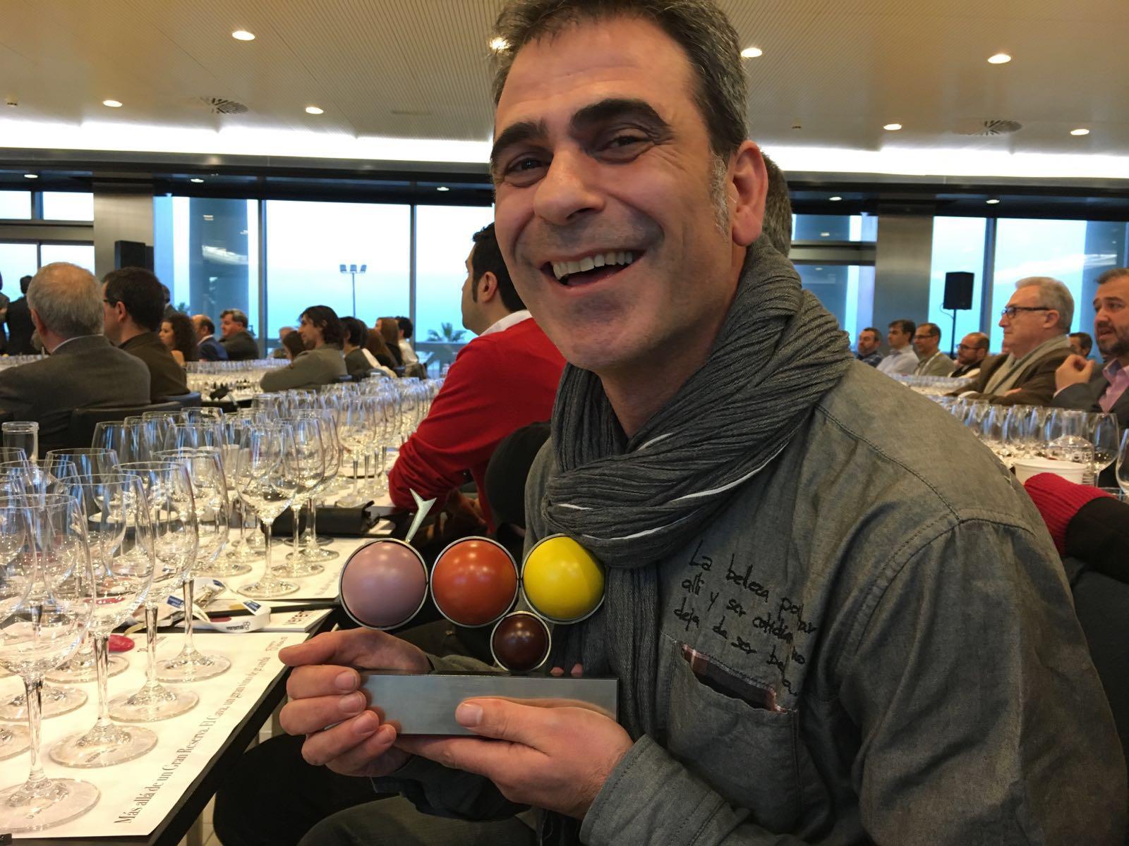 Raúl Cano, primer premio del Desafío Experiencia Verema