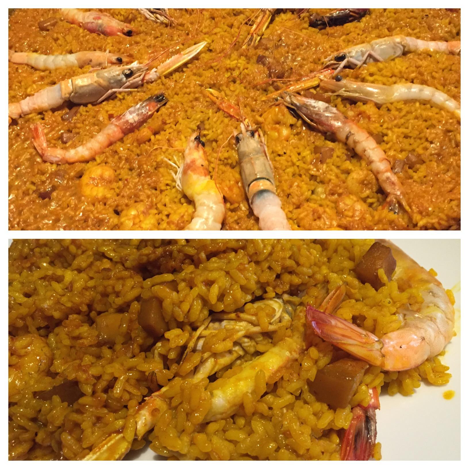 Restaurante Submarino Oceanogràfic (Valencia) Arroz de marisco