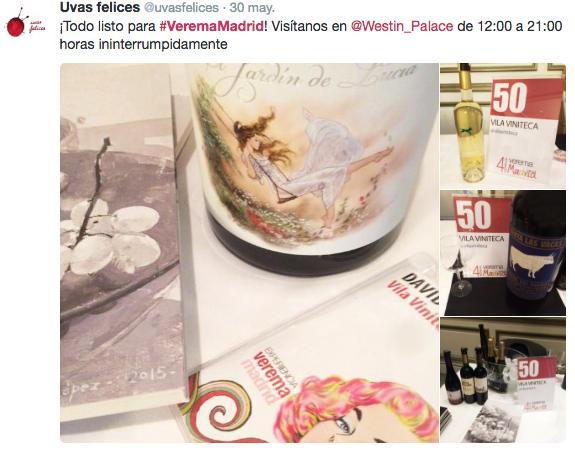 Experiencia Verema Madrid 2016