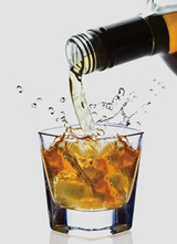 Copa de whisky col