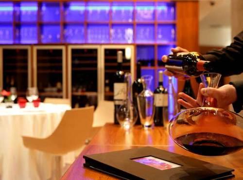 Syrah Restaurant (Barcelona) Esmero en el servicio del vino