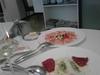 Carpaccio de pulpo con macedonia de verduras   terrina de bacalao con pimiento asado thumb