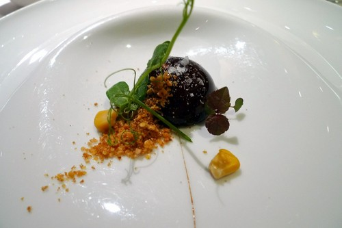 Restaurante La Sucursal Tartufo de foie