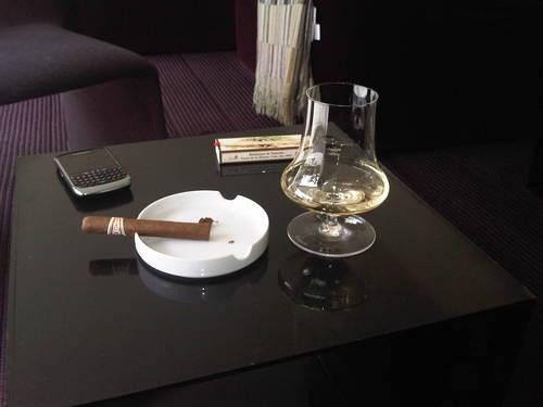 Restaurante en Girona El puro y la copa de verdad