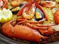 Restaurante en El Palmar Paella de bogavant