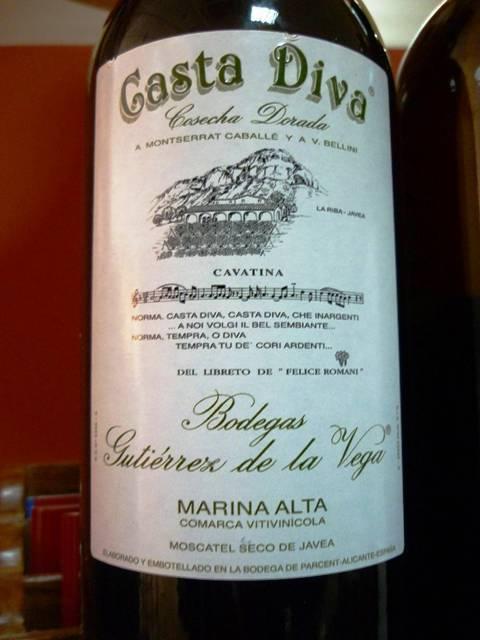 La cata de vinos blancos del 19f en los pinchos de andrea - Casta diva vintage ...