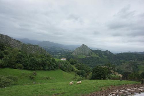 Casa Marcial (Asturias) solo por ver esto ya merece la pena subir hasta el restuarnte