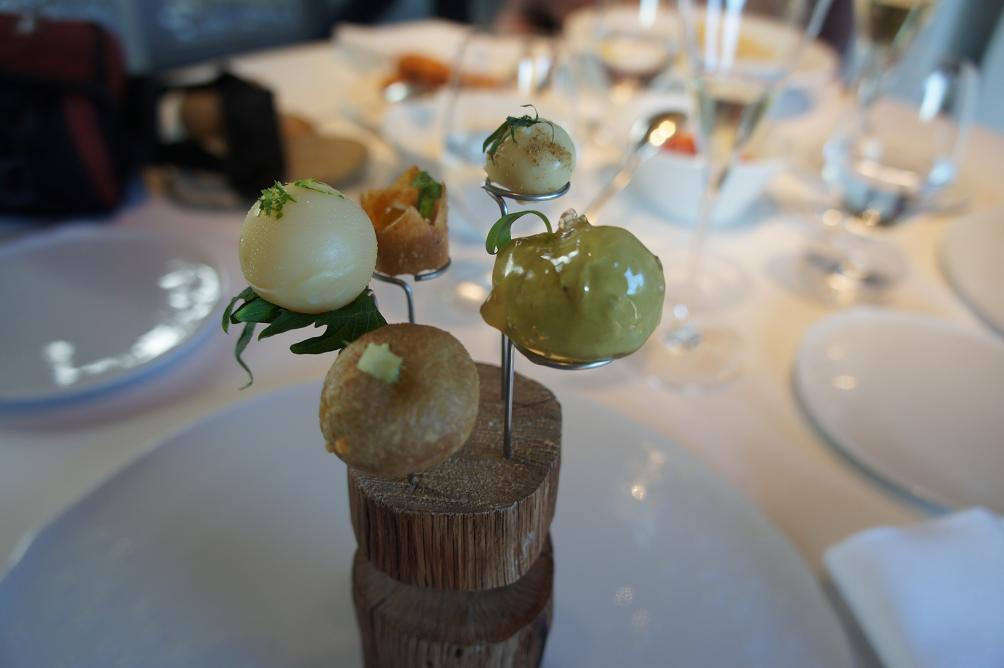Restaurante en Girona magica presentacion y mucho sabor