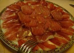 Restaurante Asador Donostiarra (Madrid) Los entrantes, un poco de jamón y lomo
