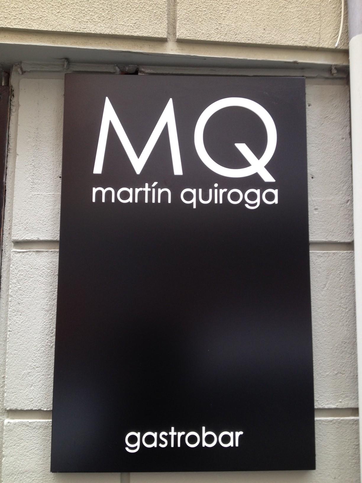 Restaurante Martin Quiroga  (Valladolid) Entrada del Restaurante