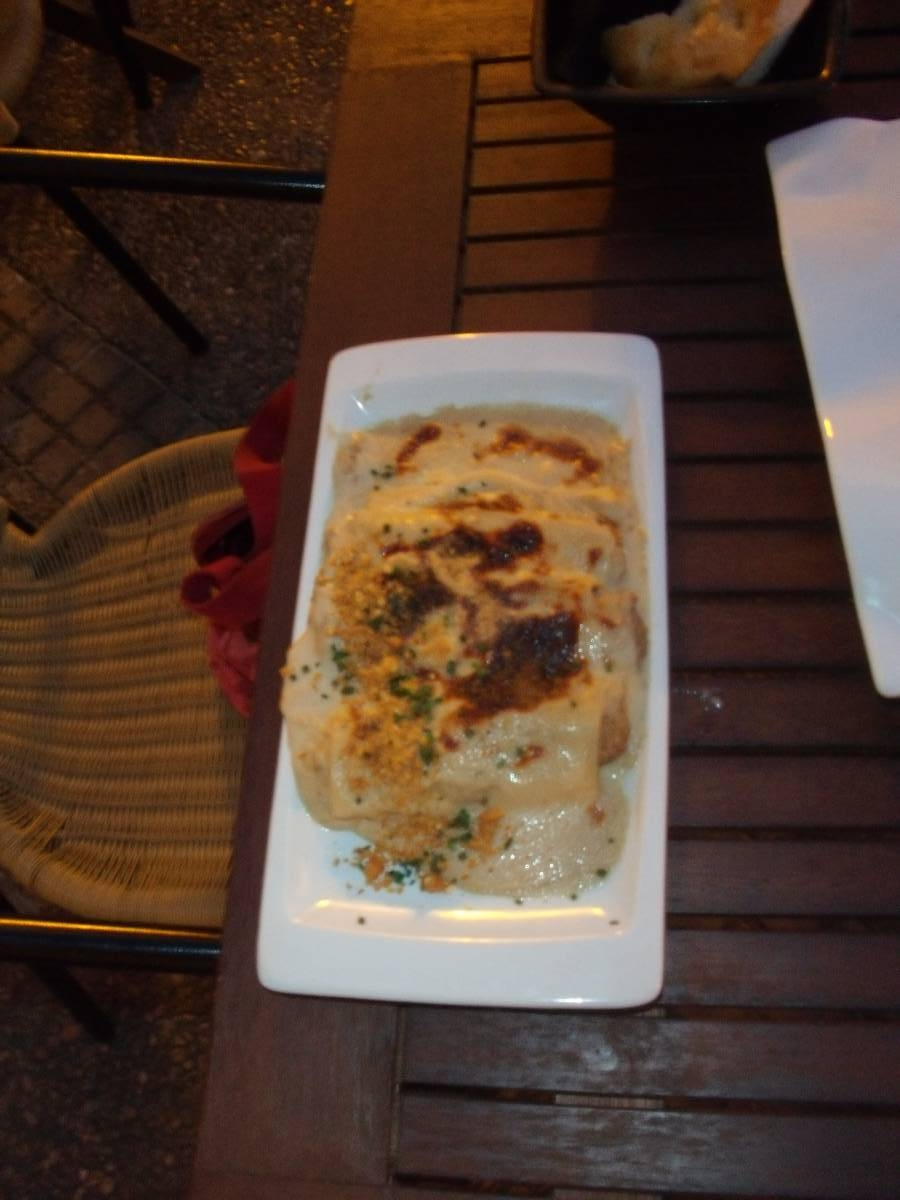 Restaurante en Jerez de la Frontera Canelones de pollo y carrillera al oloroso
