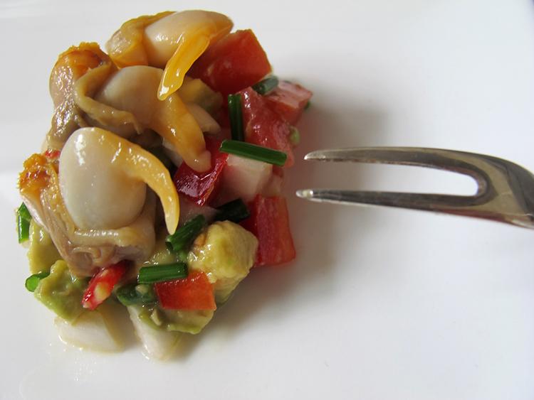 Ensalada de berberechos en un bocado - Como cocinar berberechos ...
