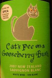 Cats Pee on a Gooseberry Bush