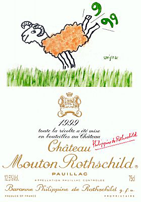 Chateau Mouton Rothschild 1999