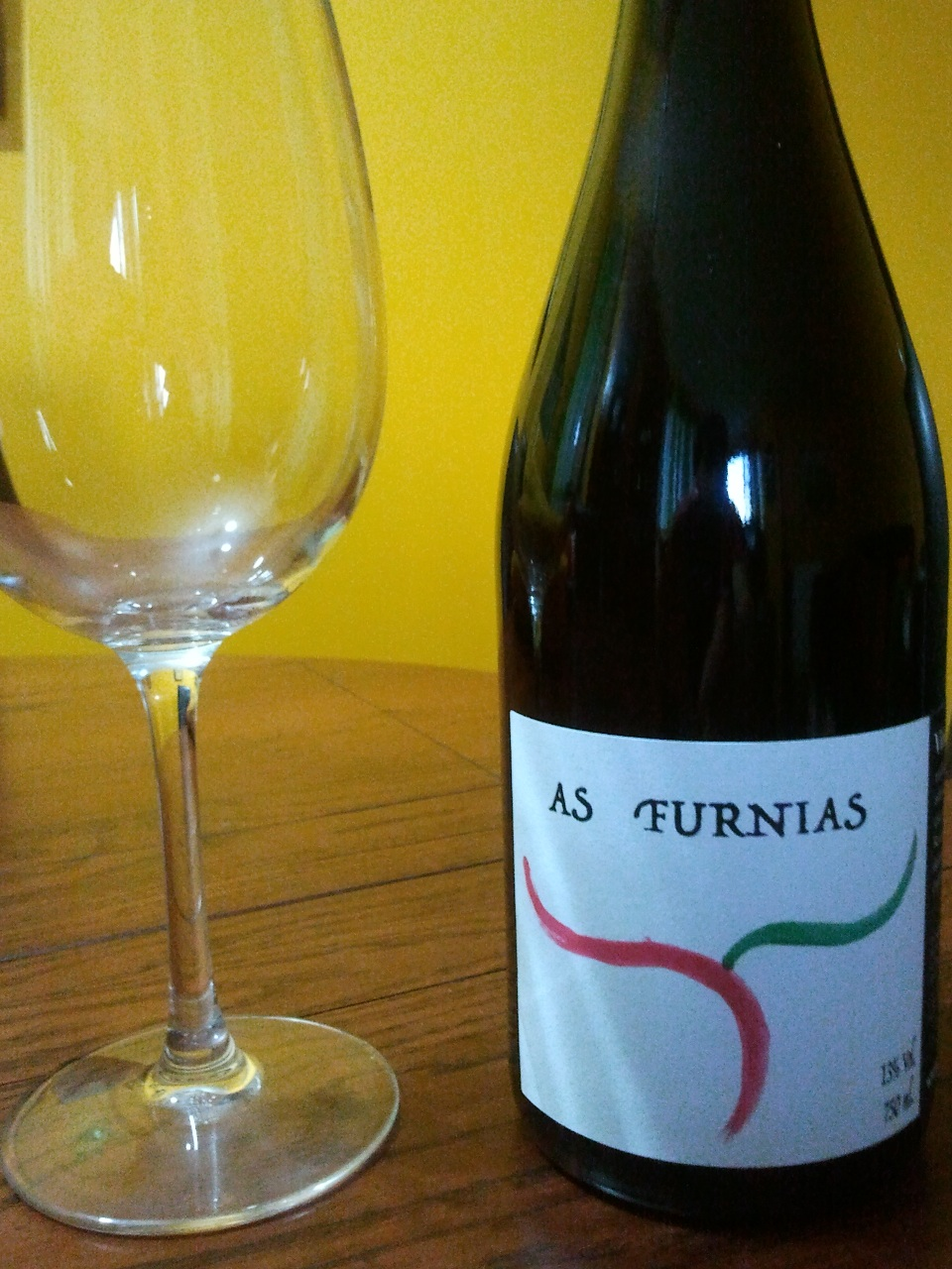 Botella de As Furnias