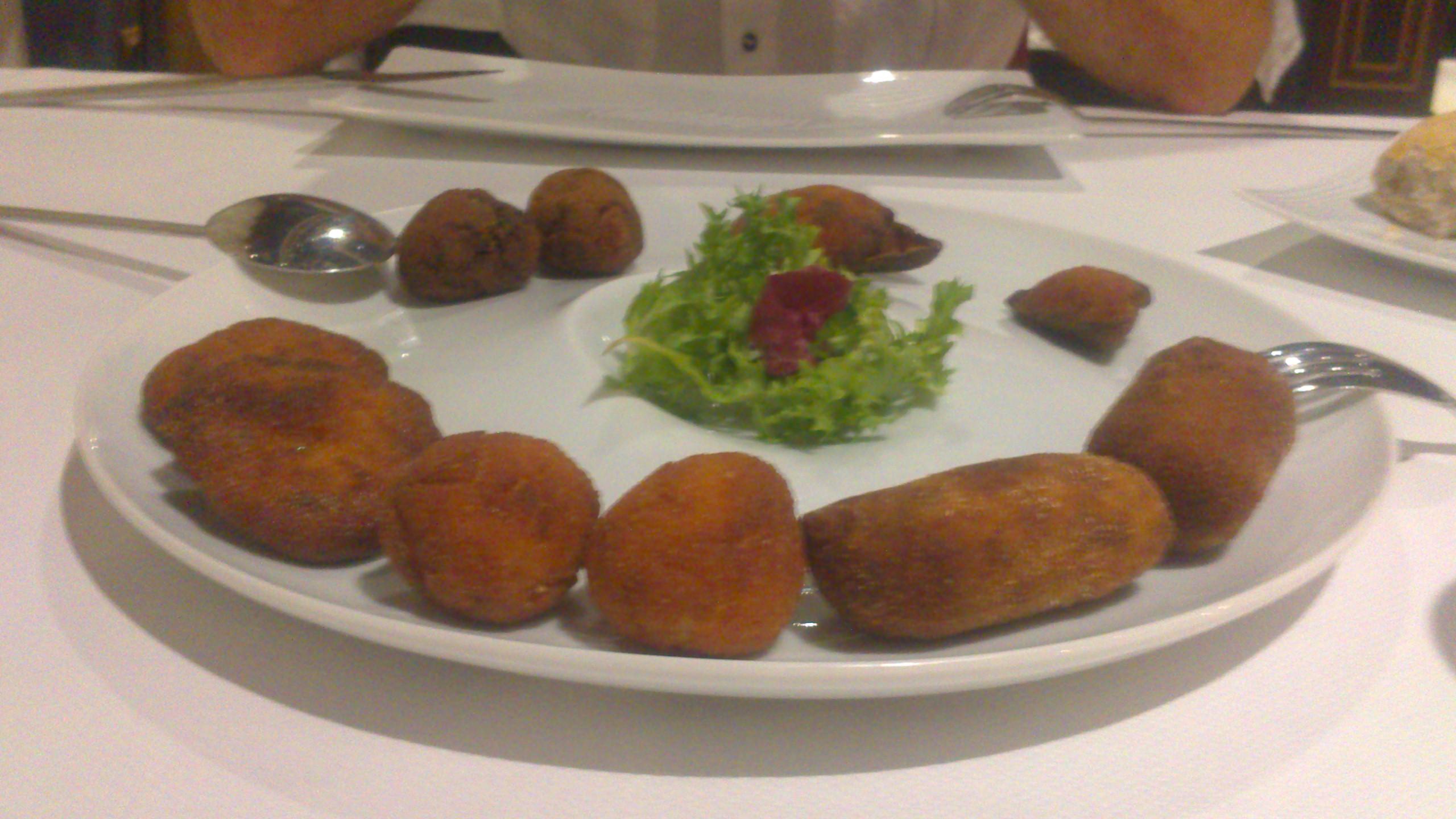 Restaurante MiGaea (Vizcaya/Bizkaia) Fritos