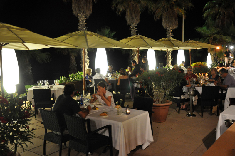 Restaurante Acqua Sitges Cenas con cocina marinera