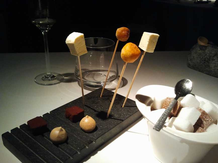 Restaurante Trigo Petit fours