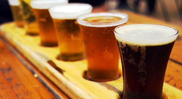 Gama de colores de cerveza