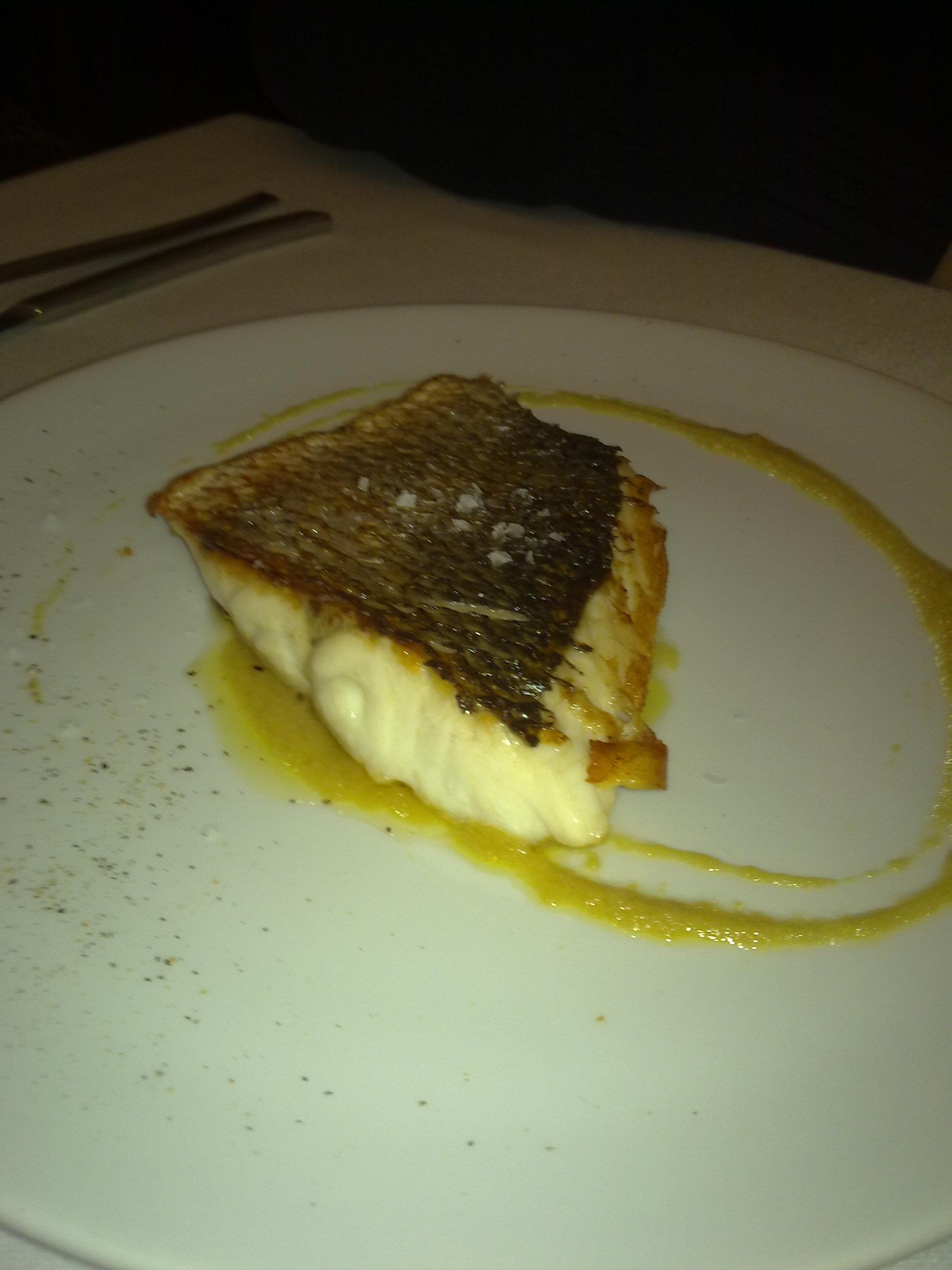 Restaurante Martin Quiroga  (Valladolid) Lubina salvaje