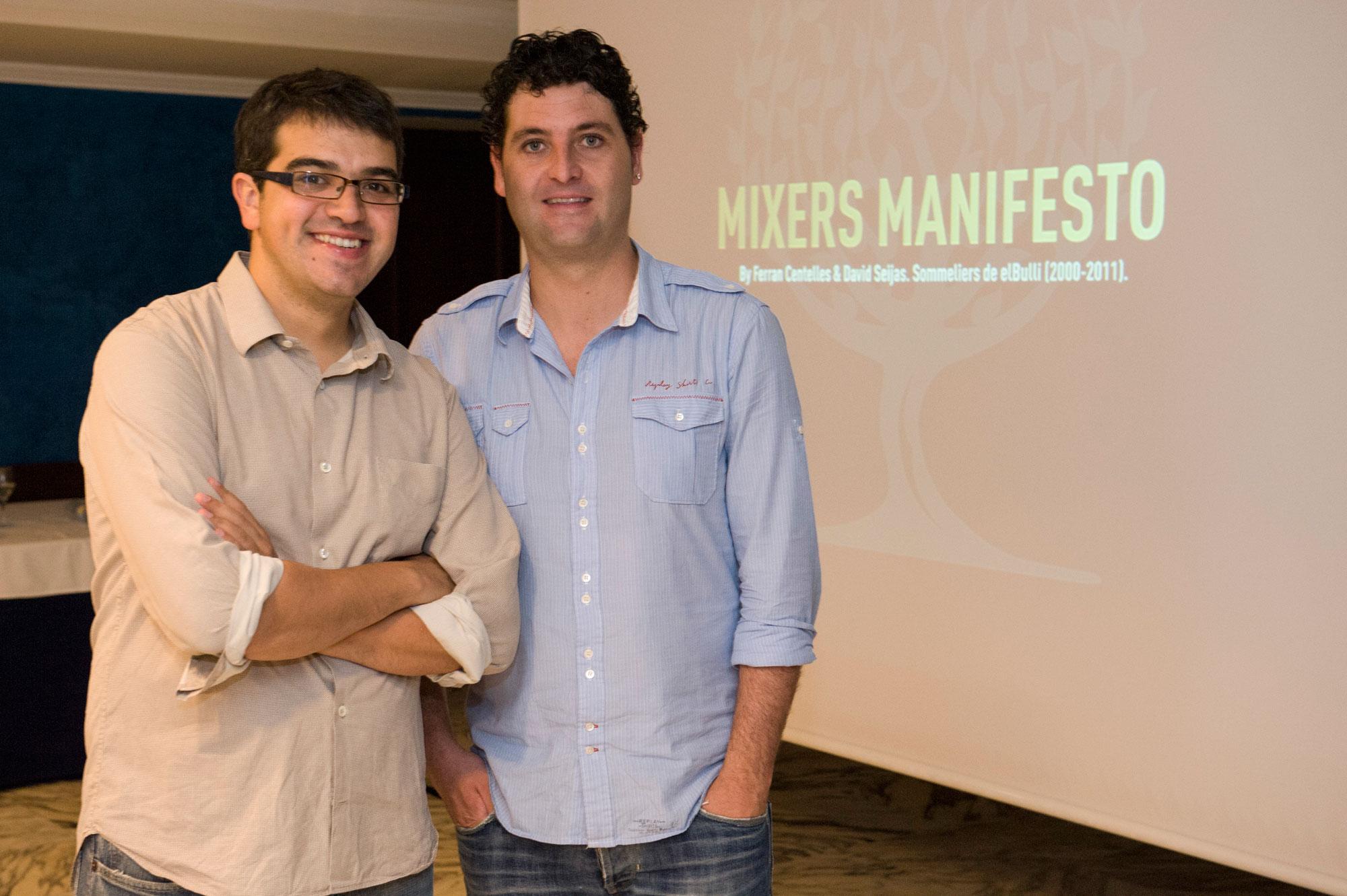 Ferran Centelles y David Seijas, Mixers Manifesto de Fever Tree