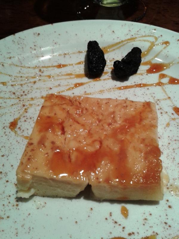 La Dorada (Madrid) Tarta de Queso Restaurante La Dorada de Madrid