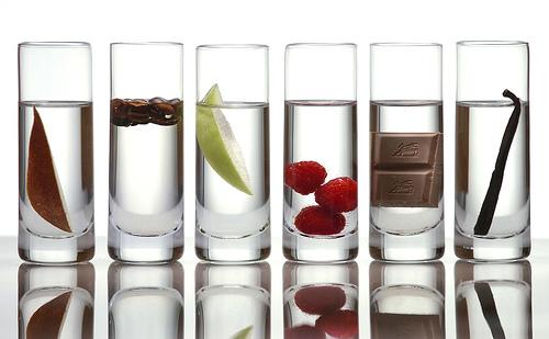 Vodka de sabores