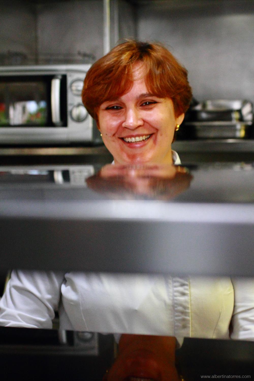 Cristina Figueira, jefa de cocina