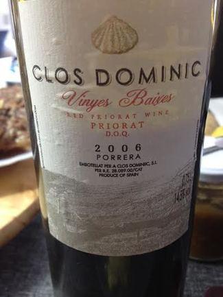 Clos Dominic Vinyes Baixes 2006