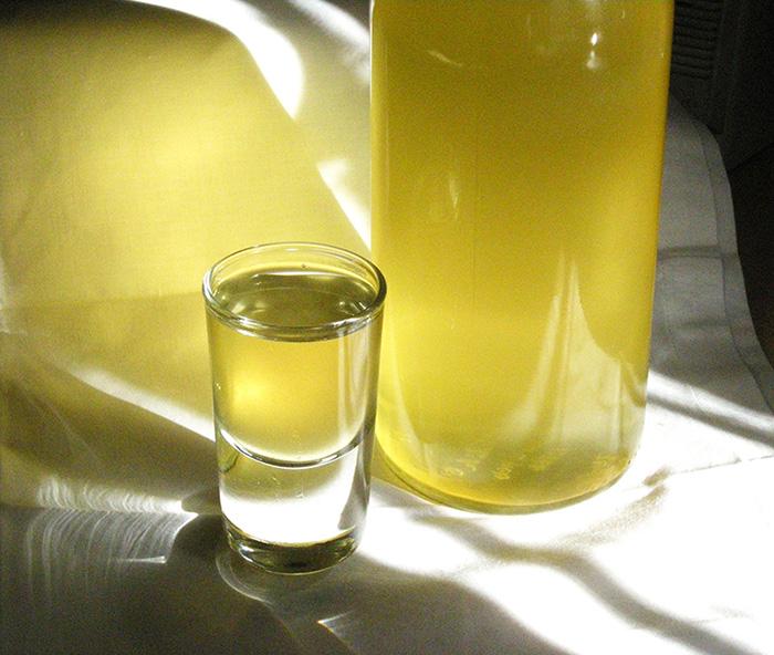 Licor limoncello