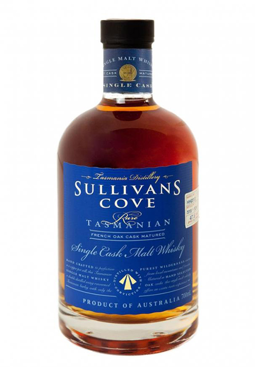 Sullivans Cove French Oak Cask, mejor whisky del mundo