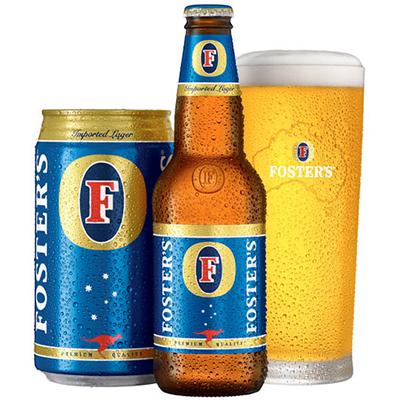 Cerveza Foster´s de origen australiano