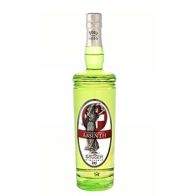 Botella de absenta suiza