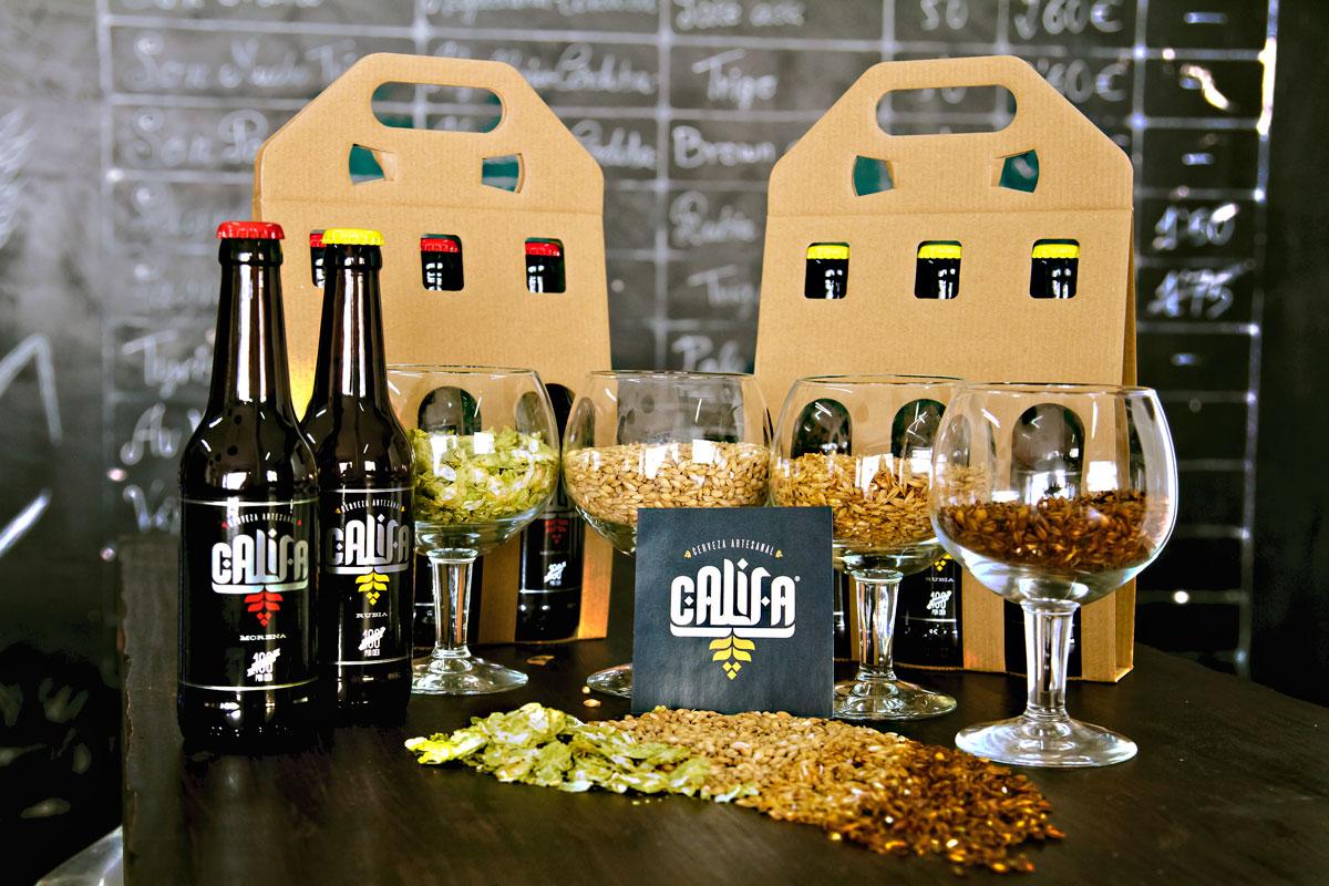 Cervecería Califa, sus productos