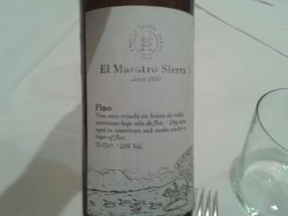 Fino El Maestro Sierra