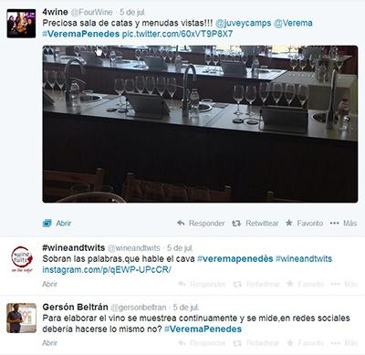 Twitter Verema Penedès