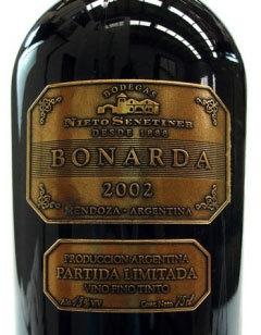 Vino argentino bonarda nieto senetiner logo