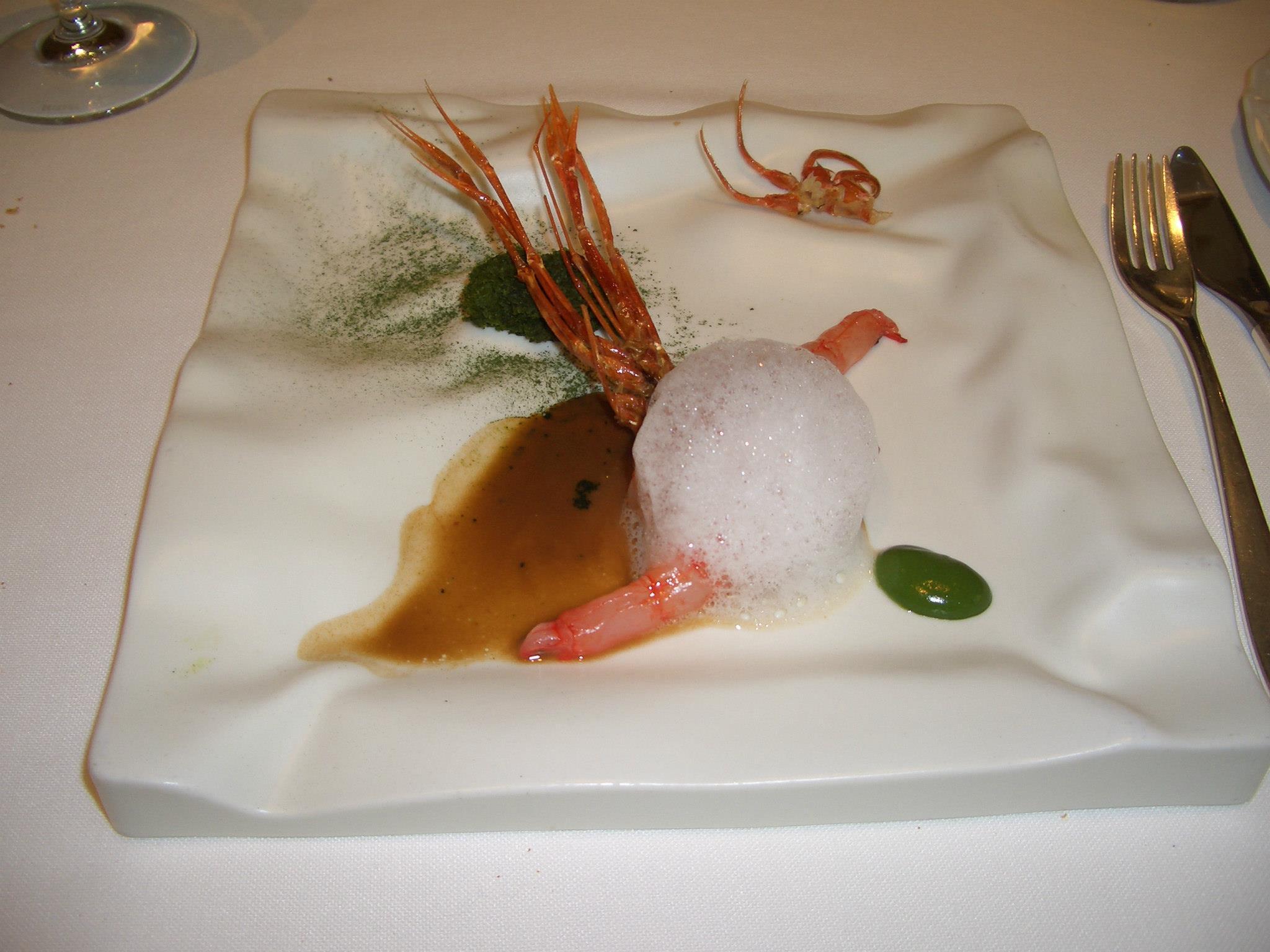 Restaurante El Celler de Can Roca (Girona) 16.- Toda la gamba