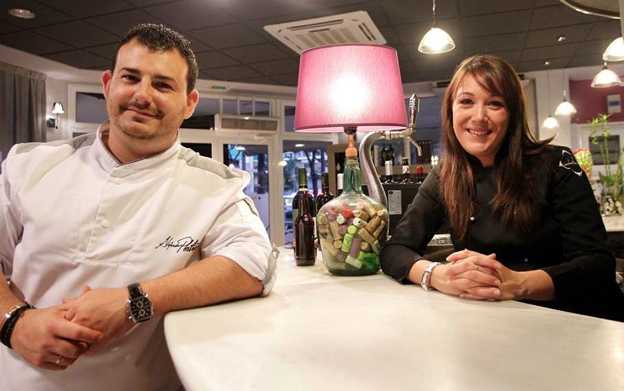 Alejandro Platero y Raquel Bernal Cocinero Revelación Madrid Fusion 2015